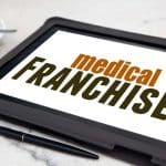 medical franchise written on an IPad