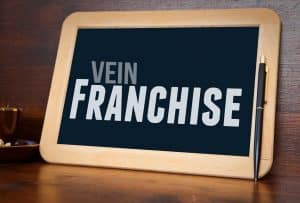 Vein franchise sign